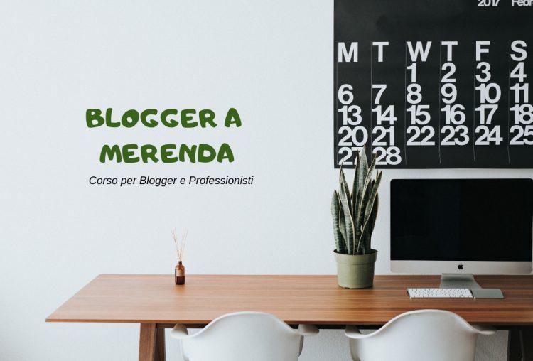 Blogger a Merenda: corso per diventare blogger a Milano