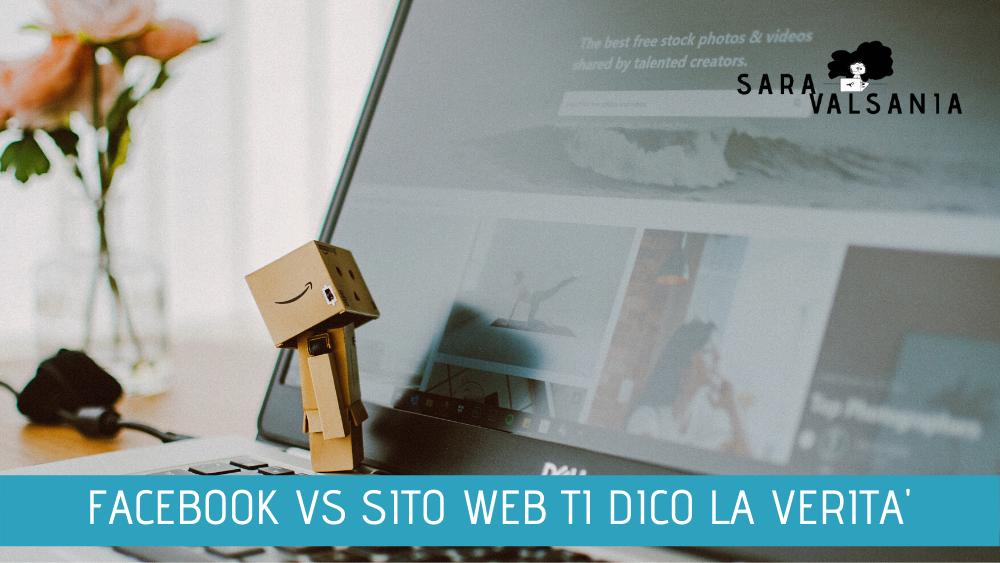 Usare Facebook come Sito Web? Scherzi vero?